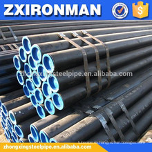 DIN 1629/EN 10216-1 tubo de acero inconsútil grado st37.0, st44.0, st52.0