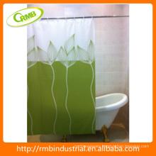 Fashion Fancy Printing PEVA Shower Curtain