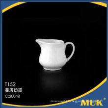 2016 hot sale guangzhou supplies elegent ceramic milk pot