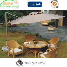PLUTÔNIO revestido de tecido 100% poliéster tecido 300 * 300d para-sol guarda-chuva com Anti-UV