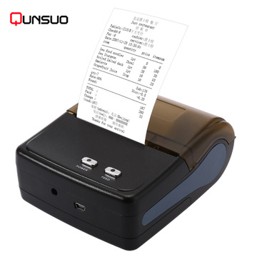 QS5801 Handheld Bluetooth pos penerimaan termal printer