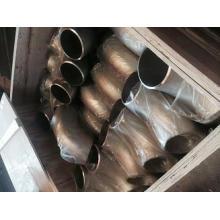 ANSI 304 acier inoxydable 90 degrés coude SR