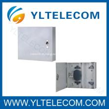 Caja de bornes de divisor óptico de fibra para montaje en pared