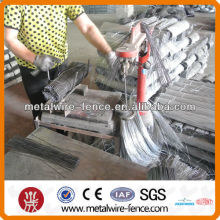 U type black iron cut wire