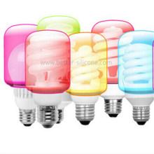 Promoción cubierta de bombilla de silicona LED personalizada
