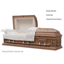 solid oak antique buy casket