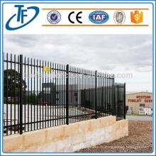 Clôture de sécurité de garnison standard de qualité Australie, Modèles de clôture de portes et de fer