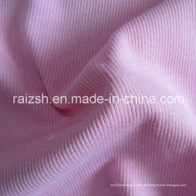 2X2 Rib Knitting Stoff CVC Rib Färben Stricken Stoff