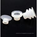 Ventosa de goma industrial transparente pequeña personalizada