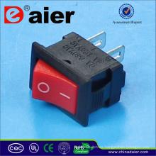 Mini interruptor oscilante de 2 clavijas