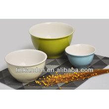 KC-0415large soup bowls,ceramic solid color bowls,rice bowl