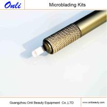 El más nuevo Manual de acero inoxidable Microblading Pen- Excéntrico Handtool