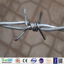 Galvaniserad Steel Coiled Barbed Wire