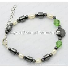 Bracelets de mode en cuir et en perle