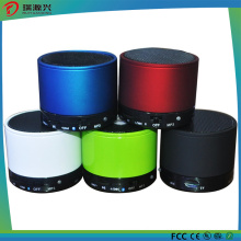 Altavoz inalámbrico portátil de Bluetooth de la cubierta del metal