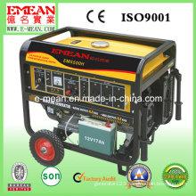 6kw Portable Single Phase Electric Start Generator Em5500he