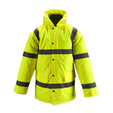 Police Industry Bomber Safety Rain Jacket