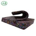 tapis de sécurité en caoutchouc antidérapant noir