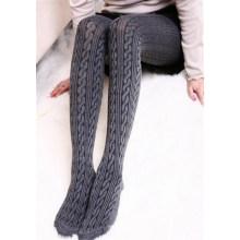 Winter-warme Mädchen-bequeme Frauen-Baumwollstrumpfhosen (50987)