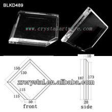 K9 En blanco de cristal para BLKD489 de grabado del Laser 3D