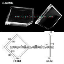 K9 Branco cristal para BLKD489 de gravura do Laser 3D