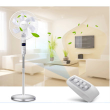 16 Inch 6 Blades Stand Fan with Remote