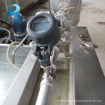 Turbine flow meter for liquid without impurity and corrosivity