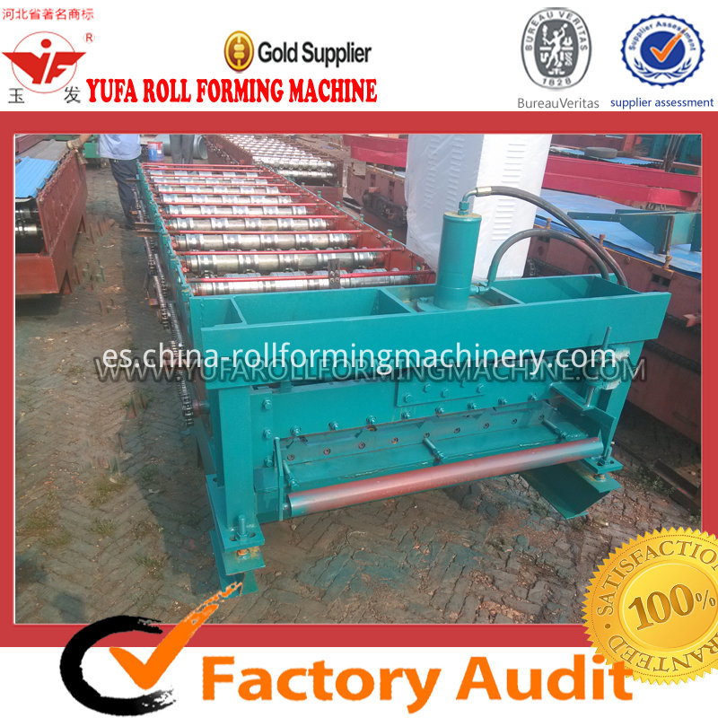 high efficiency roof panel color steel roll forming machine