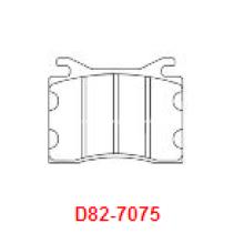 Almofadas de freio semi-metálicas BMW 528