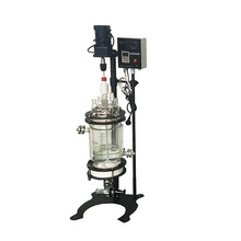 5L-100L  Jacketed Double-Layer Glass Reactor