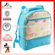 Saco de criança de mochila de piquenique de crianças com compartimento mais frio