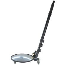 Mk Round Convex Mirror Portable Telescoping Inspection Mirror Under Car Search Mirror Under Vehicle Inspection Mirror