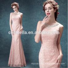 Sehen Sie durch Schatz-Rosa-Meerjungfrau-Abend-Kleid und Damen-Partei-Kleid