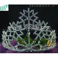 Tiara barata de coroa de neve