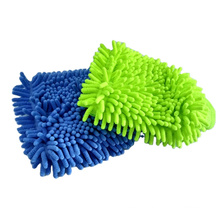 Chenille Microfiber car cleaning Wash Mitt Chenille Cleaning