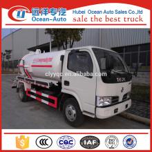 China 4 cbm Sewer Sucking Truck Manufacture