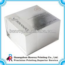 Caja cosmética de papel elegante simple