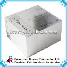 Simples caixa de papel elegante cosméticos