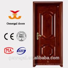Puerta de madera de acero interior económica de la base de papel del panal