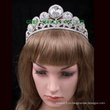2016 Большой Rhinestone Тиара Дизайн моды короны