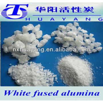 99,5% AL2O3 abrasives und feuerfestes weißes geschmolzenes Aluminiumoxid