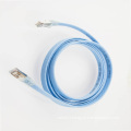 RJ45 32awg SSTP Cat6a flat patch cable
