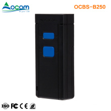 OCBS-B250 Mini Handheld Portable Mobile Wireless Bluetooth QR Barcode Scanner With Memory