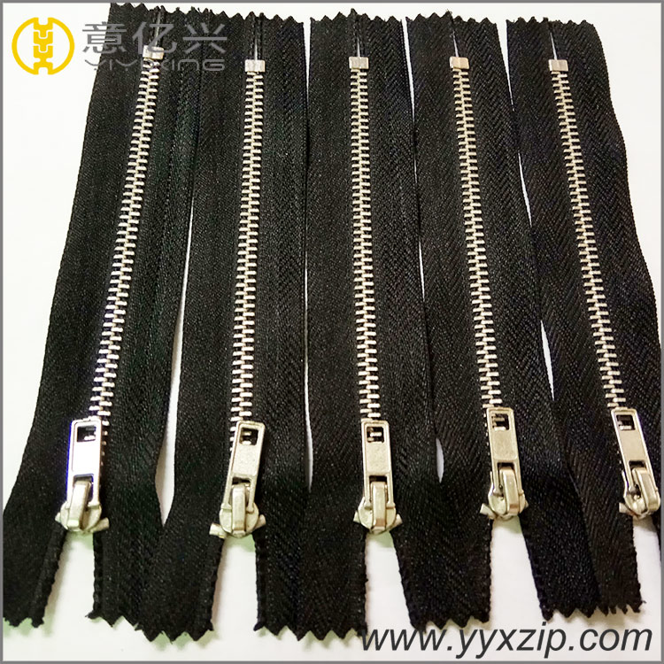 No.5 Y Teeth Metal Zipper