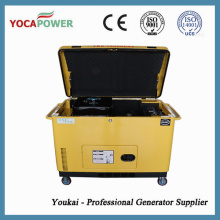 8kw Portable Soundproof Small Diesel Engine Electric Generator Power Generation