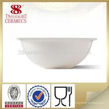 Bol à salade carrée chinoise en porcelaine blanche bol pour le restaurant