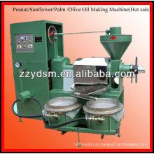 Automatische Erdnuss / Sonnenblume / Palme / Olivenöl, das Maschine herstellt (200KG / H) 0086-15138669026