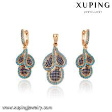 64214 Xuping Wholesale Fashion Jewelry Sets