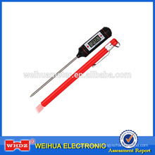 Portable BBQ Thermometer Digital Thermometer Food Thermometer BBQ Temperature with Sensor Probe PT-1