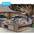 Ouyee Grocery Gondola Rack Racks Convenience Store Shelves For Supermarket Fruit And Vegetable Display Supermarket Equip Shelf